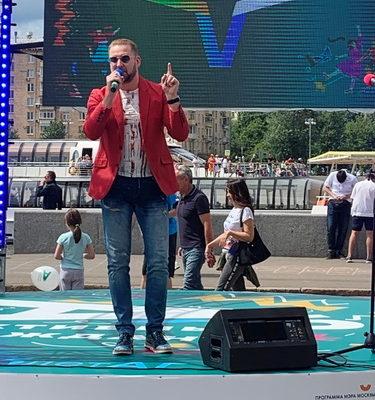 """Андрей Бриг на празднике """"Активный гражданин"""" 1"""